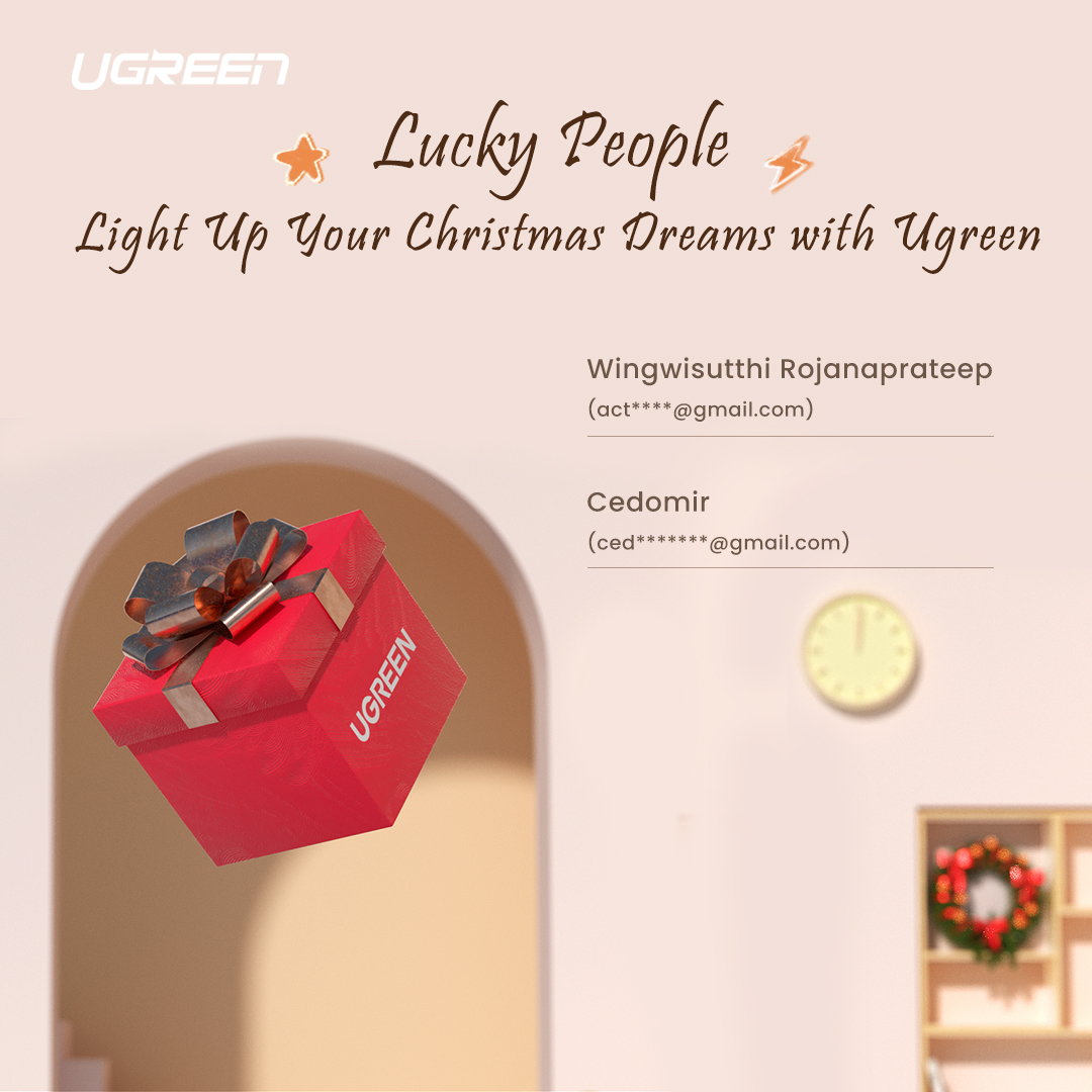 Winners of Light Up Your Christmas Dreams