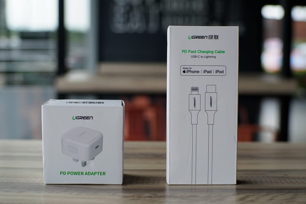 UGREEN 18W Power Delivery Fast Charge Set