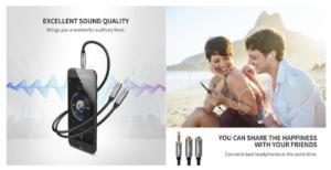 3.5mm Headphone Splitter Cable
