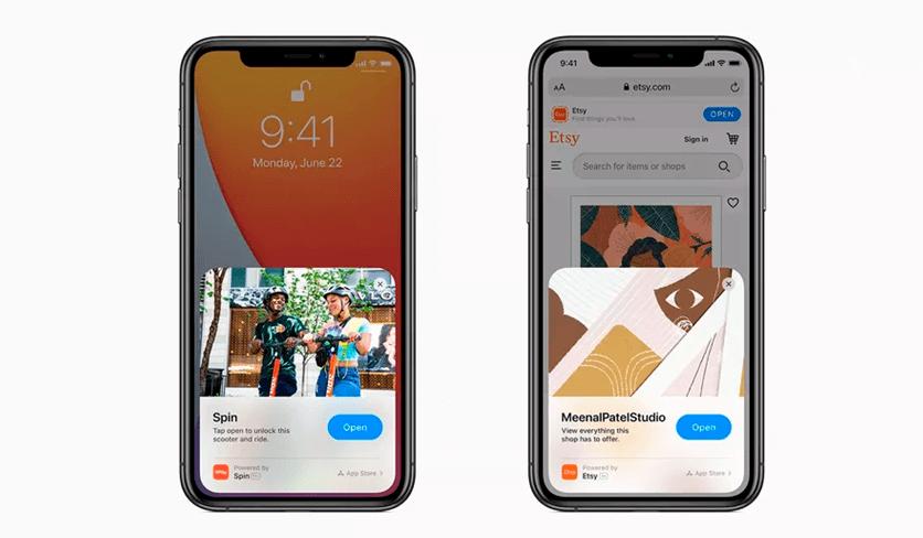 iOS 14 App Clips