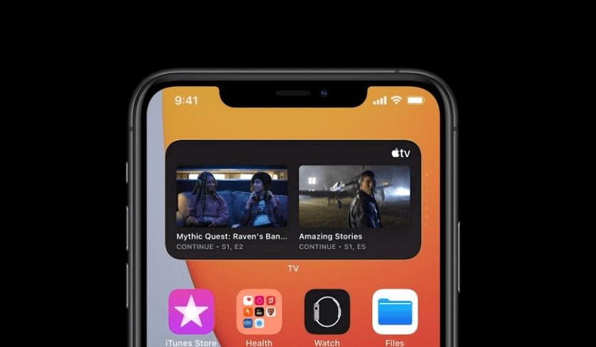 widget smart stack