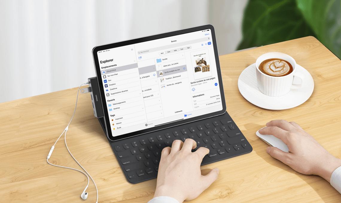 New iPad Hub