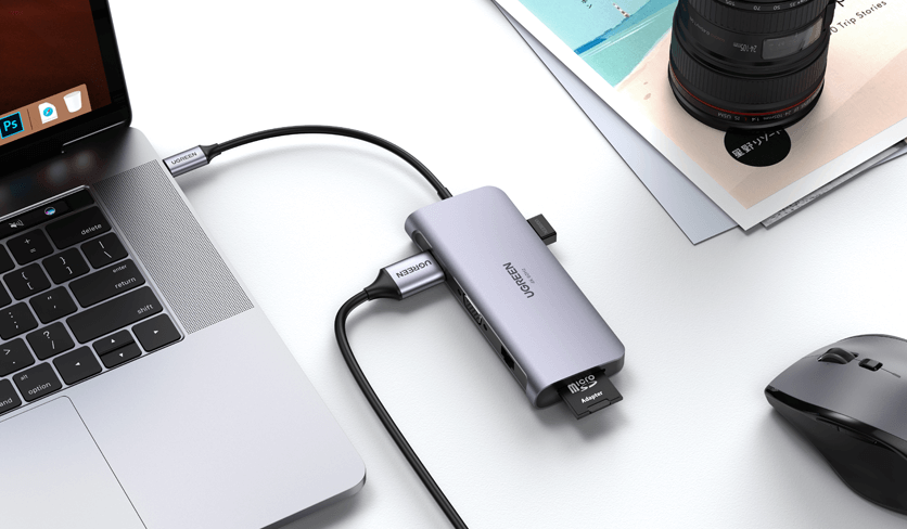 UGREEN 9 in 1 USB C Hub