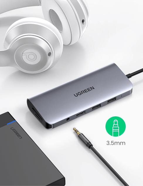 3.5mm USB-C Hub
