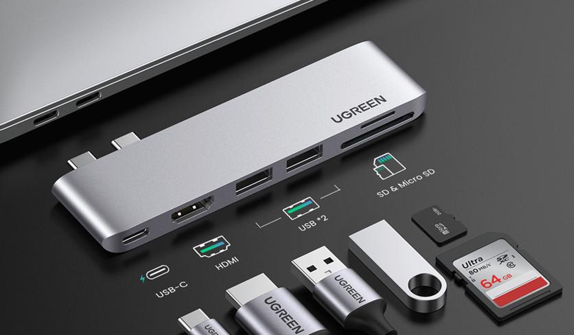 USB C Hub all functions