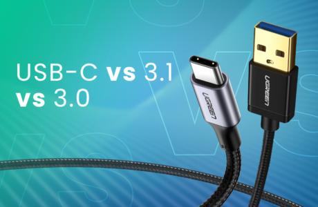 USB 3.1 vs 3.0 vs USB-C