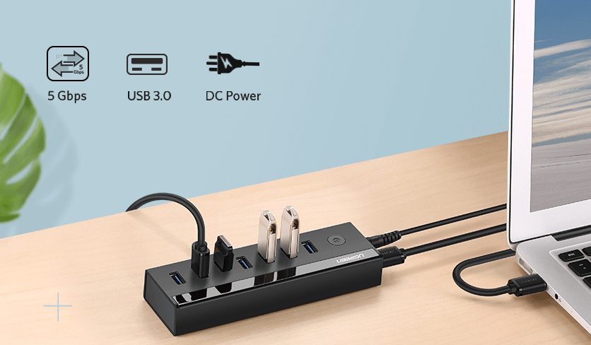 Powered USB Hub