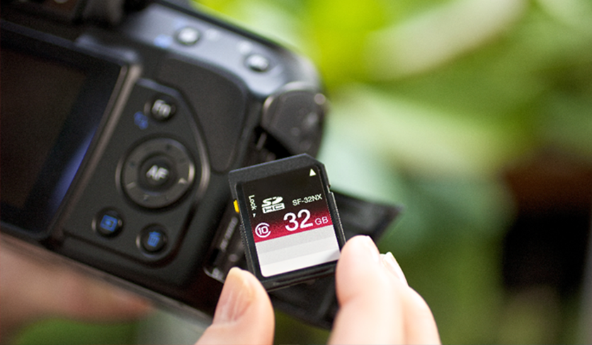 SD Card with Camera