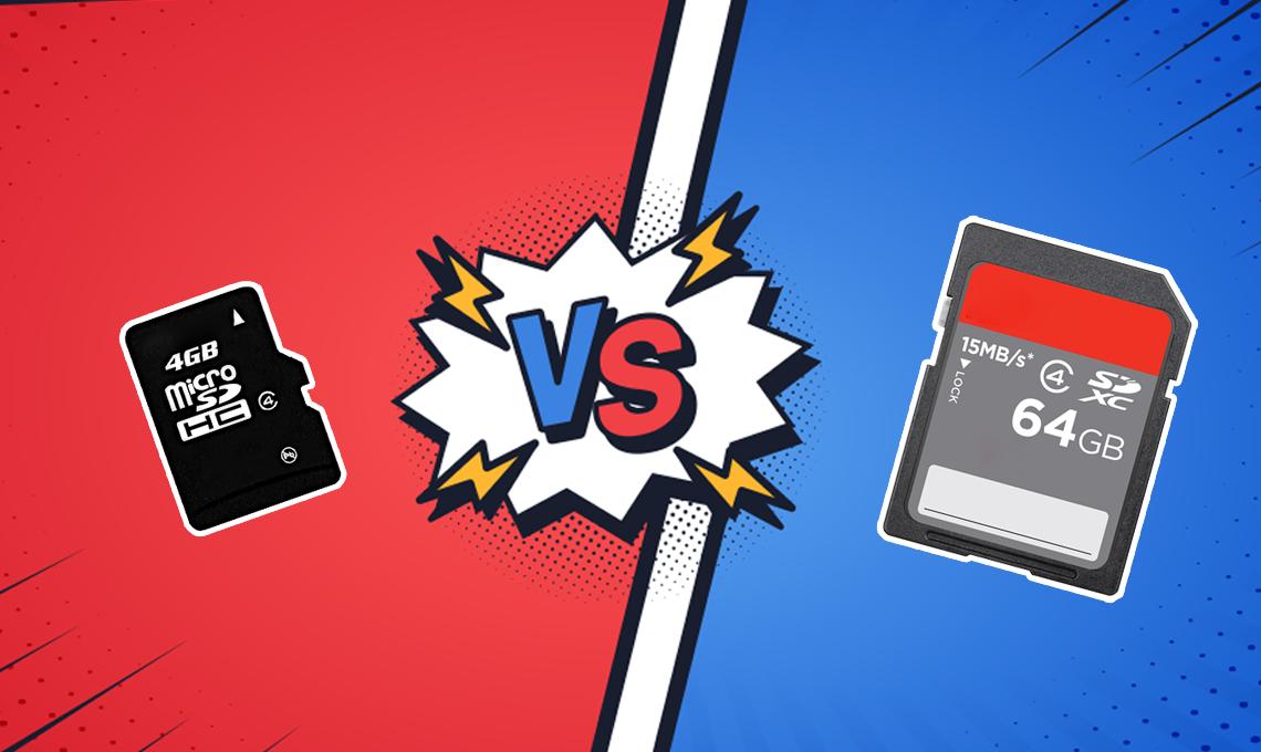TF Card vs SD Card