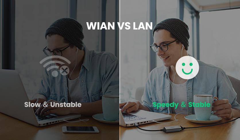 WLAN vs LAN