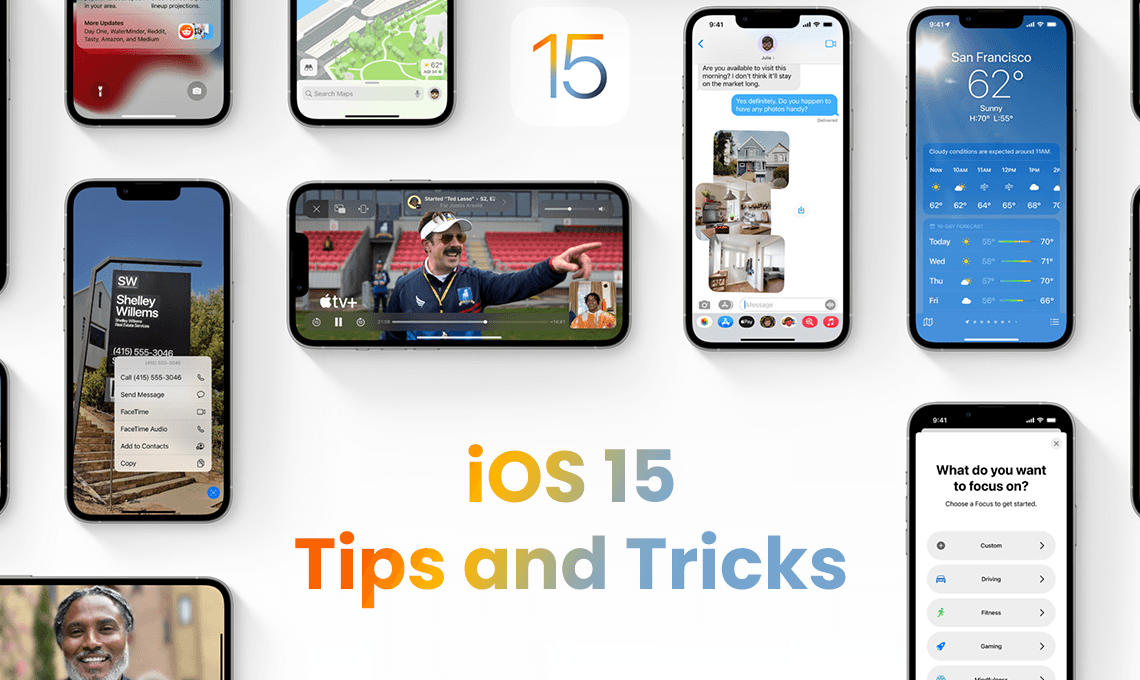 iOS 15 Tips and Tricks